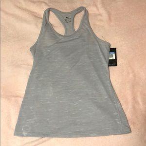 Grey Nike tank
